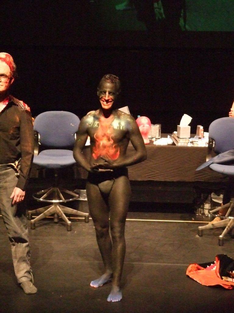fantasy body art on dispay at ROH