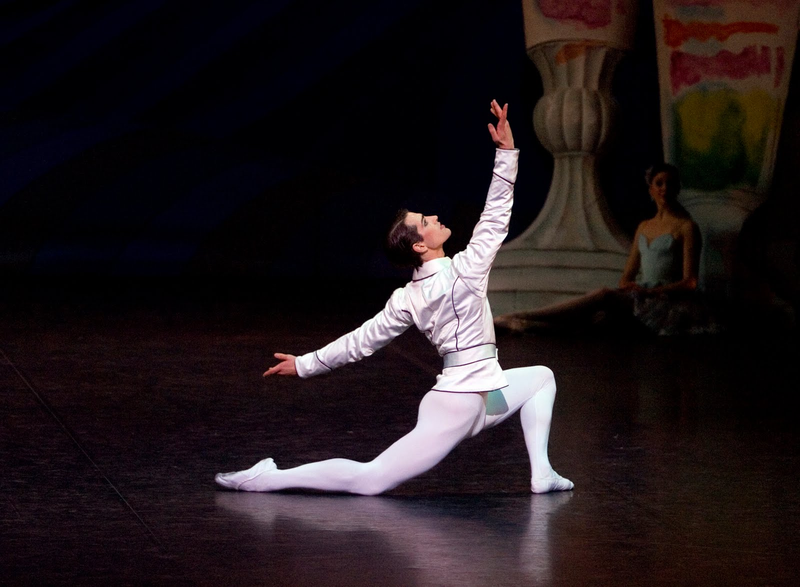 James Forbat as The Prince in The Nutcracker