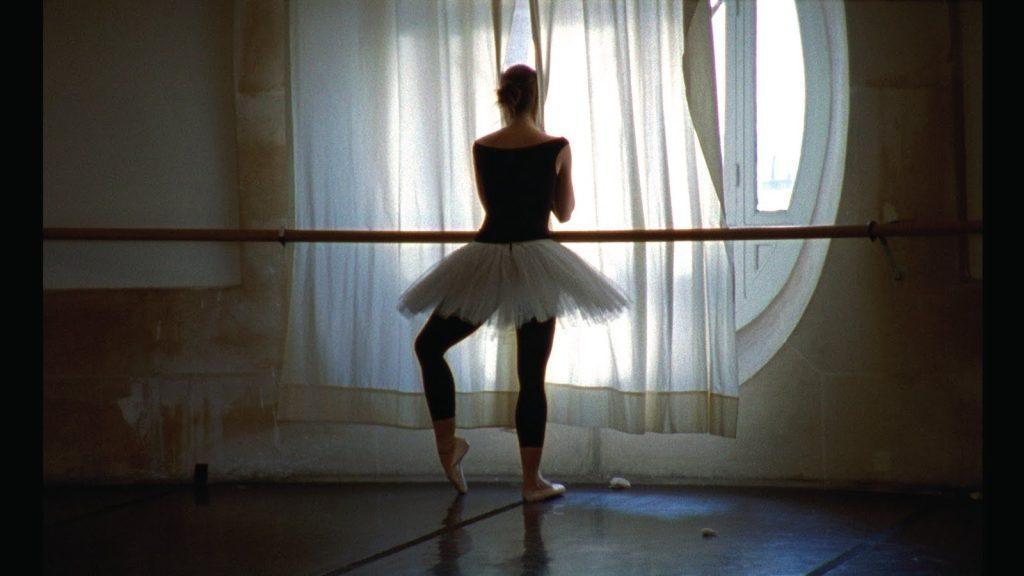 dancer wearing tutu