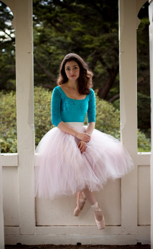 dancer in big tutu