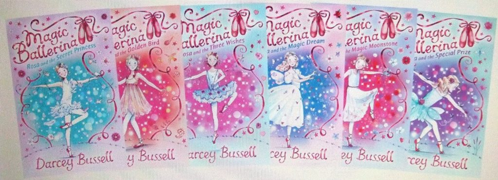 Darcey Bussell's Magic Ballerina books