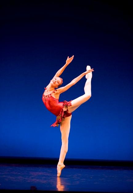 Eve Musto in George Balanchine's Rubies, Photograph : Bill Cooper