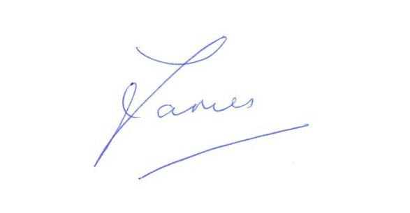 James Forbat Autograph