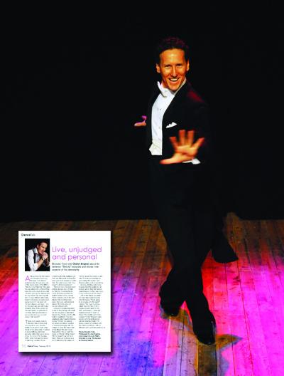Brendan Cole in Dance Today