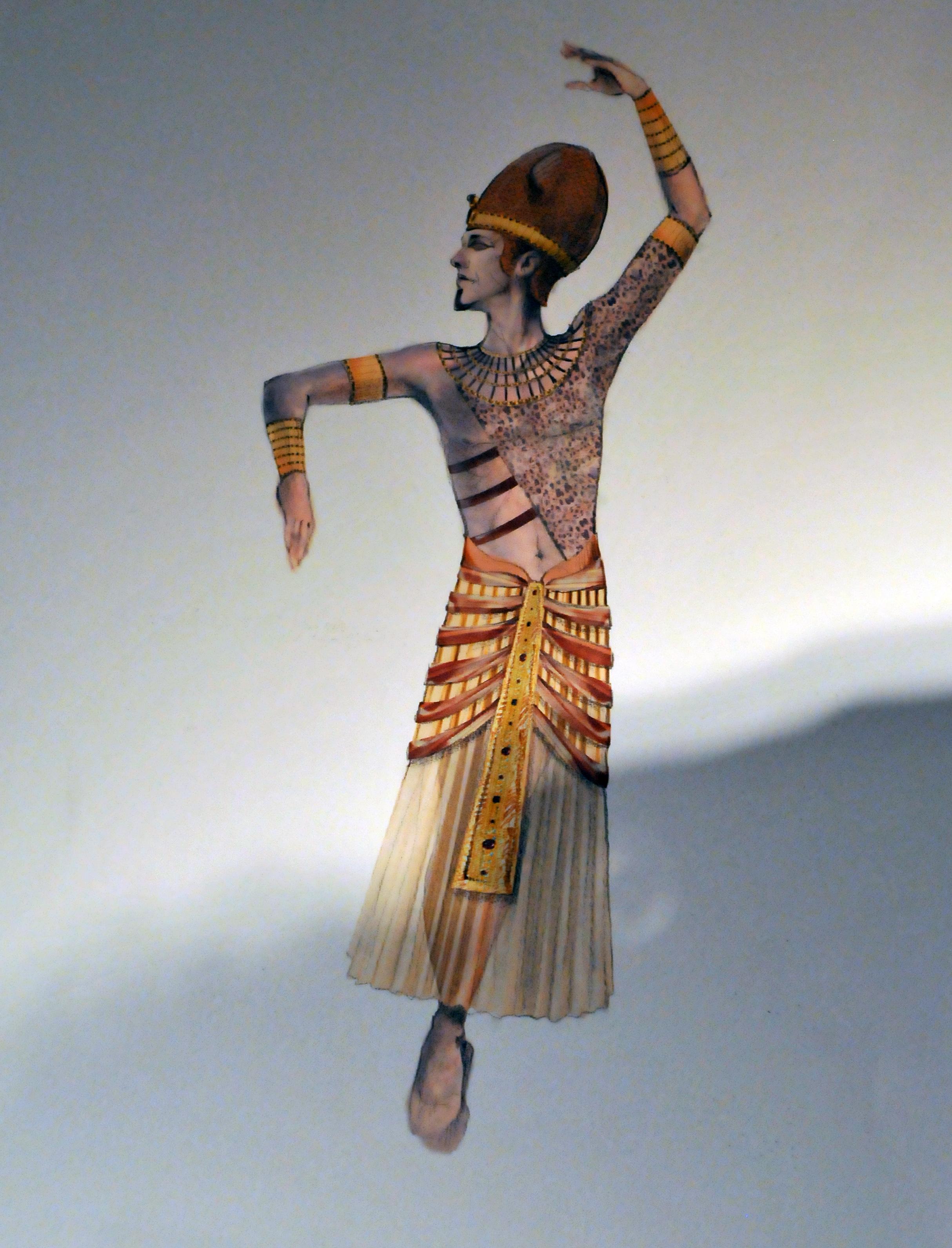 ballet, Northern Ballet, Cleopatra, costumes