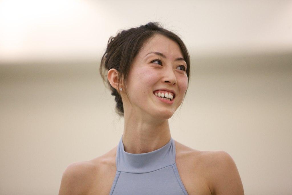 dancer laughing