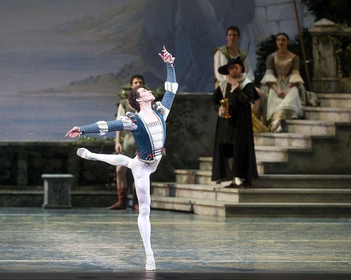 dancer in arabesque