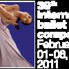 the logo of the prix de lausanne ballet competition