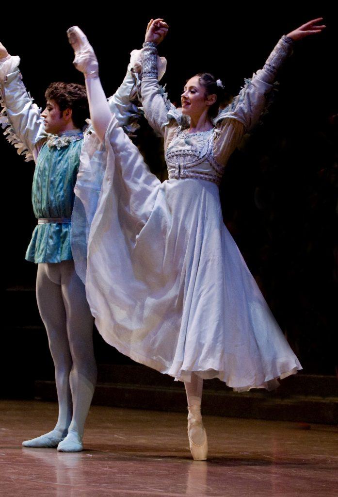 dancer on stage in Romeo & Juliet