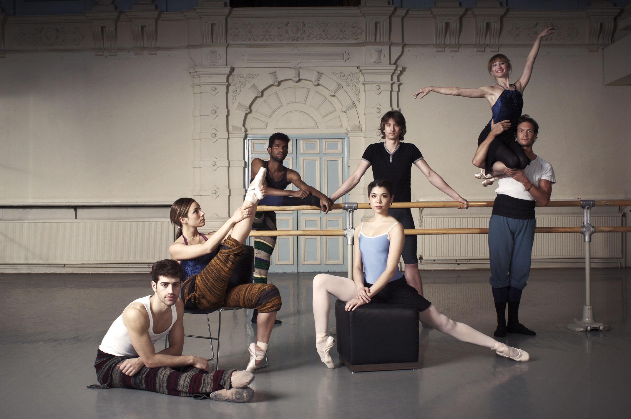 ballet dancers in the studio