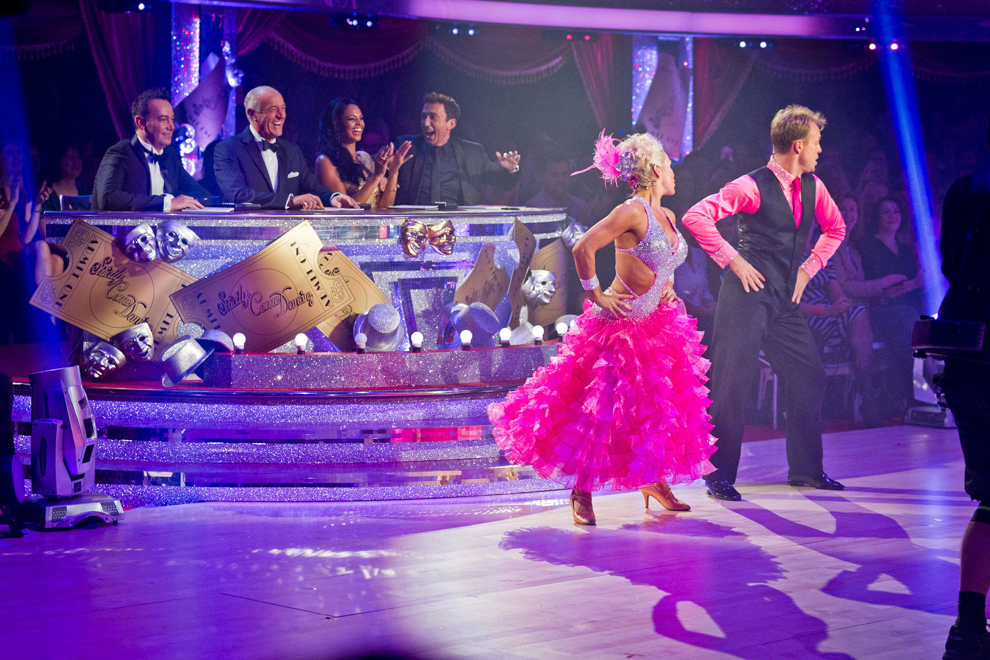 Jason Donovan and Kristina Rihannoff in Strictly