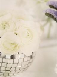 flowers glitterball