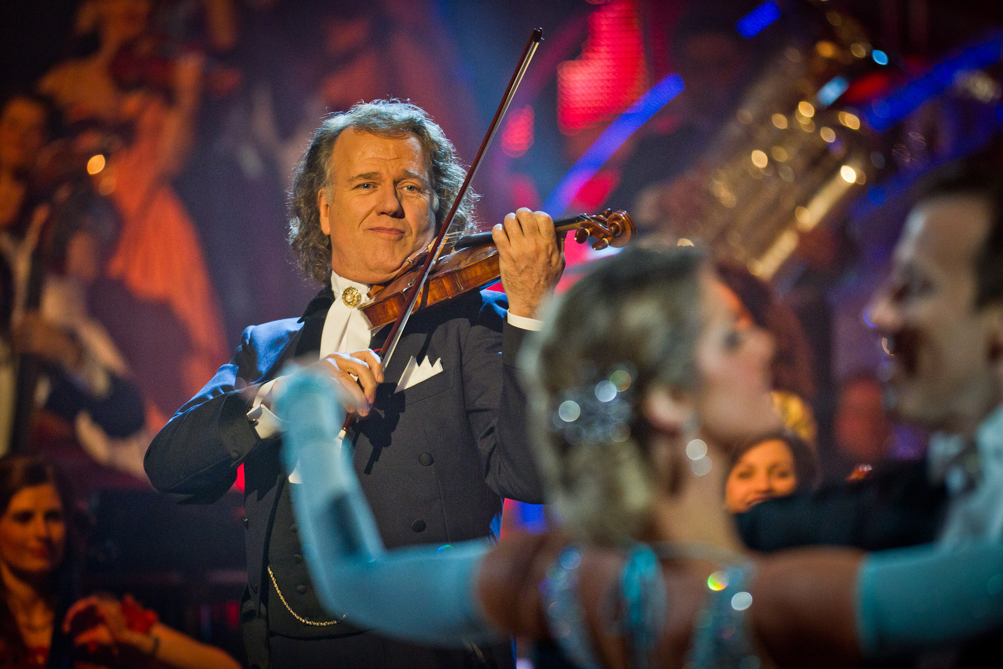 Strictly dancers and Andre Rieu