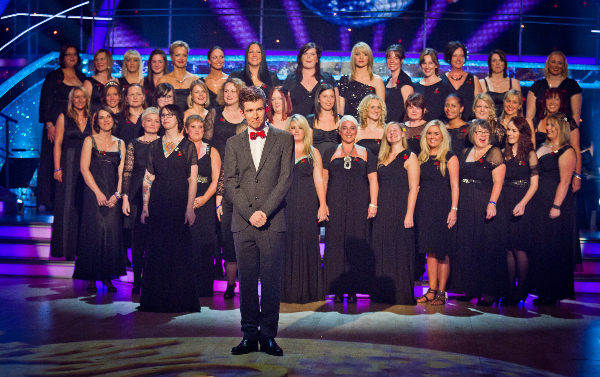 The Military Wives sing 'Wherever You Are'. Military Wives, Gareth Malone