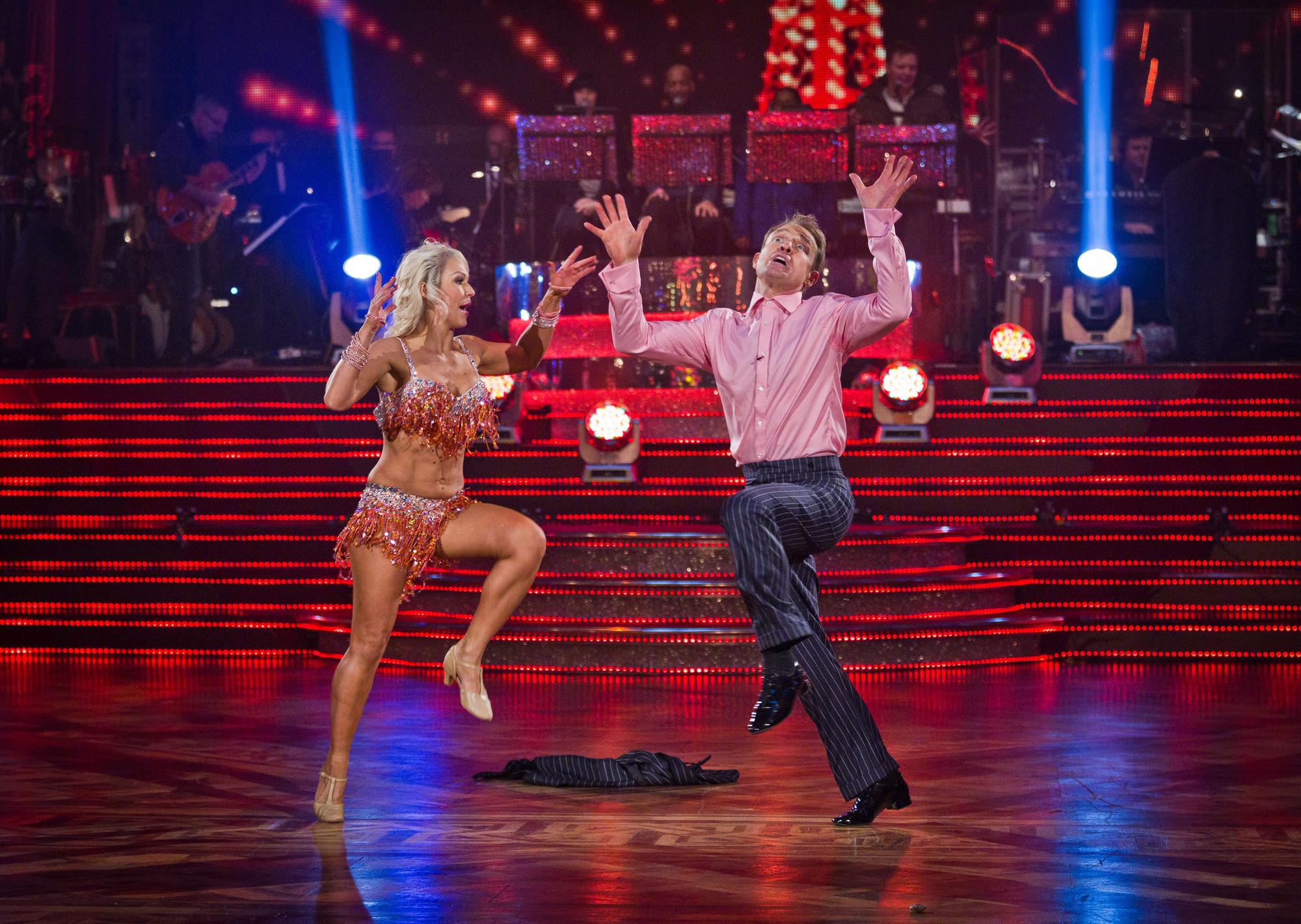 Jason And Kristina dance their Show Dance to Dancin' Fool by Gary Wilmot