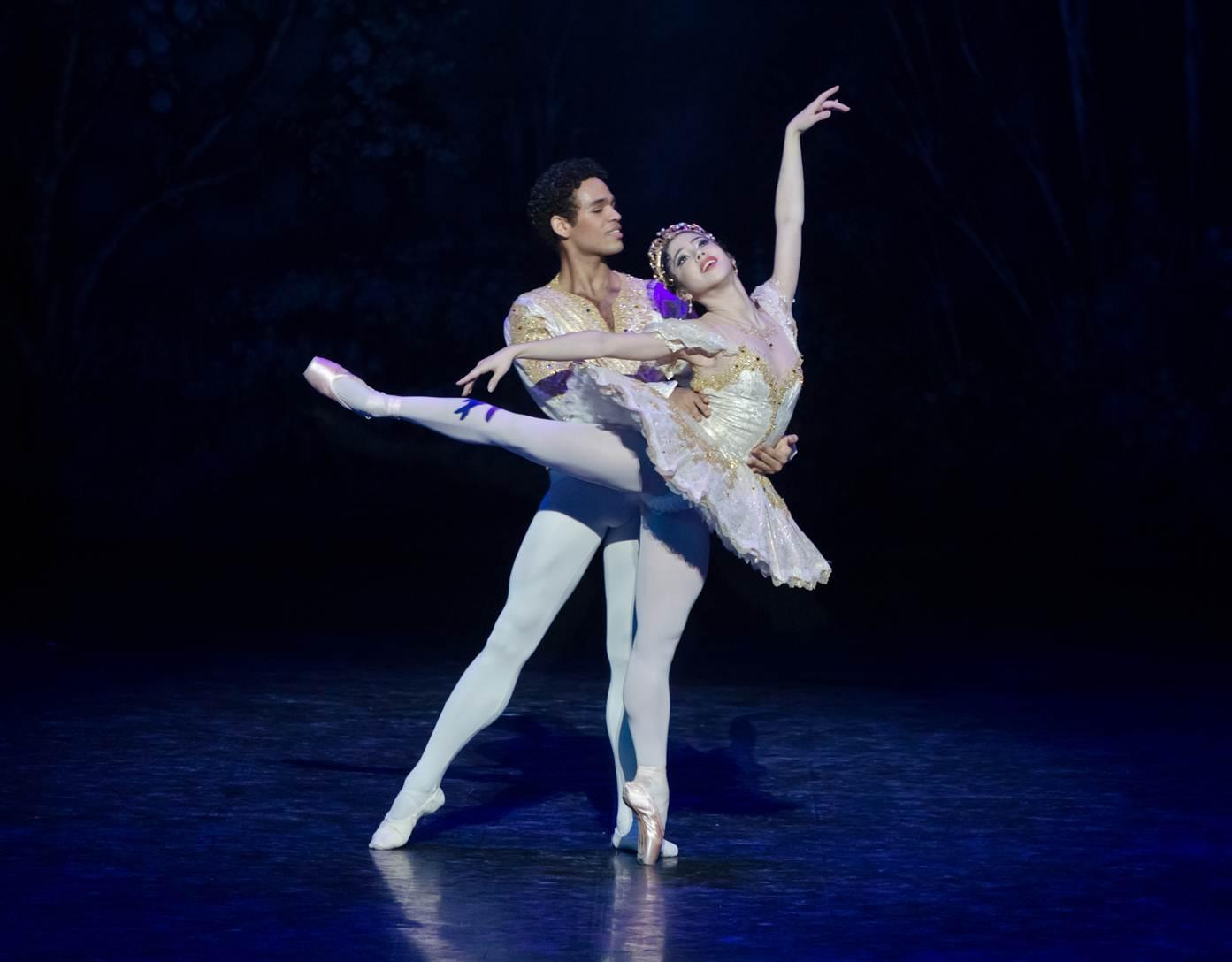Venus Villa and Yonah Acosta ballet dancers