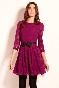 pink lace ballet dress
