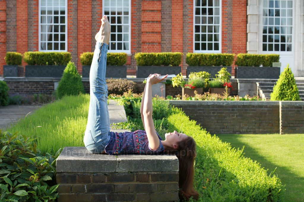 Royal Ballet Upper School student Prisca Bertoni photographed by Cheryl Angear