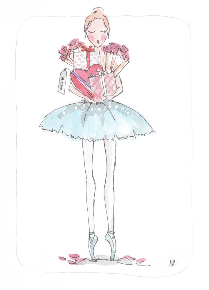 ballet valentine