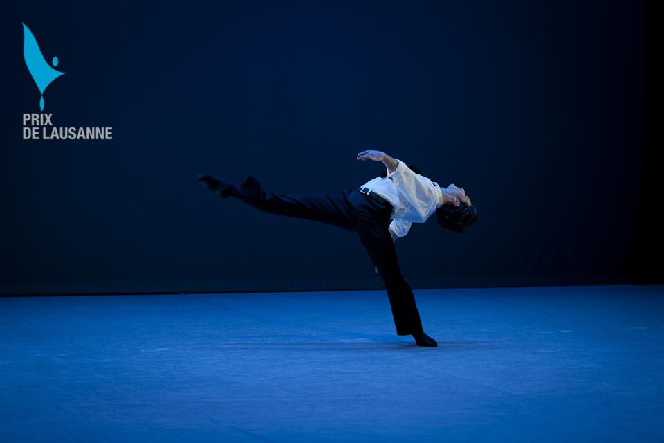 ballet dancers on stage for Prix gala