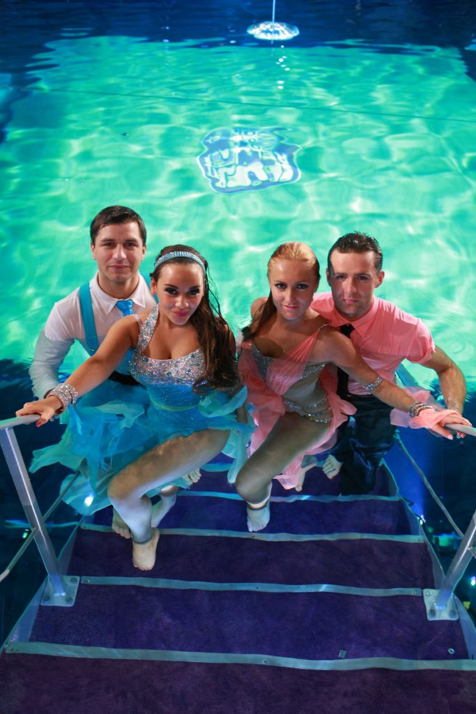 Picture Shows: (L-R) Strictly Underwater Chelsea Healey, Harry Judd - (C) Gary Moyes/Comic Relief Ltd - Photographer: Gary Moyes