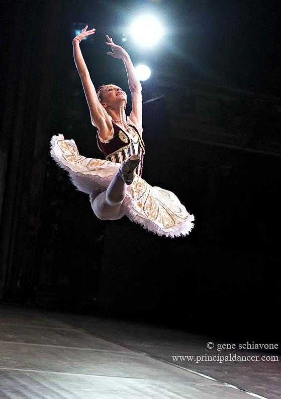 ballet dancer in jete