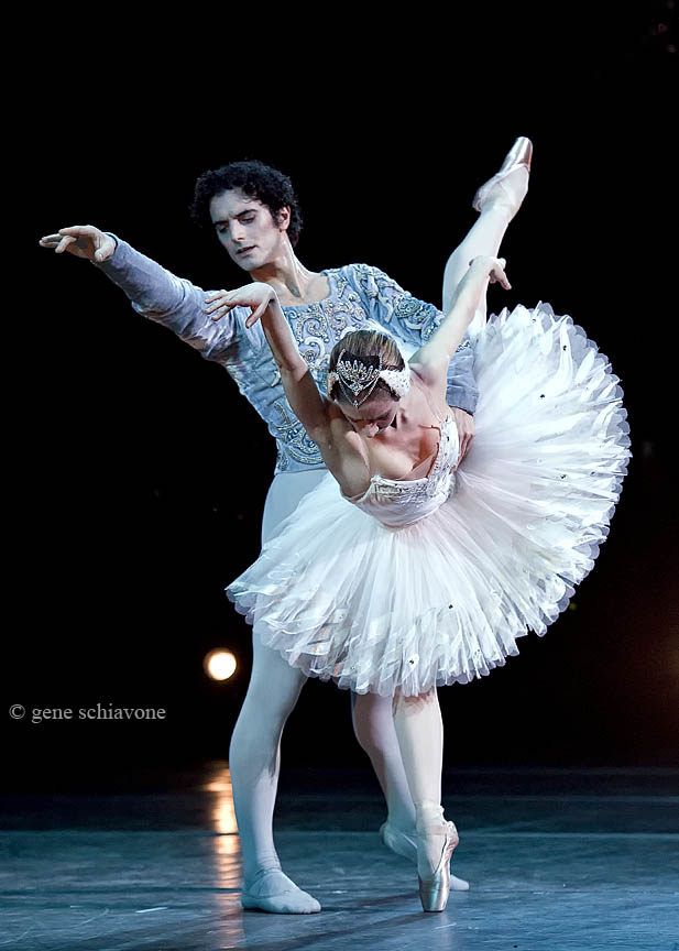 Myriam Ould-Braham & Alessio Carbone in White Swan Pas de Deux