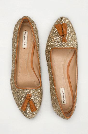 glitter slippers for ballet