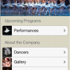 ballet app screenshot