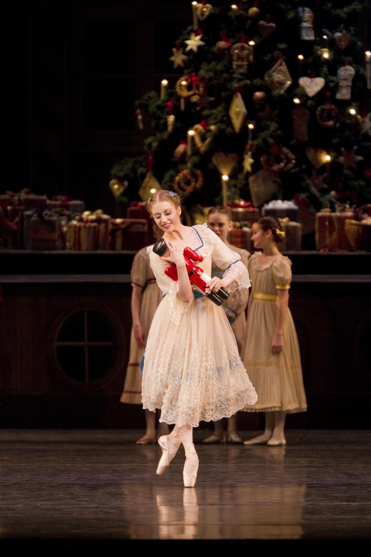 ballet dancer in the Nutcracker