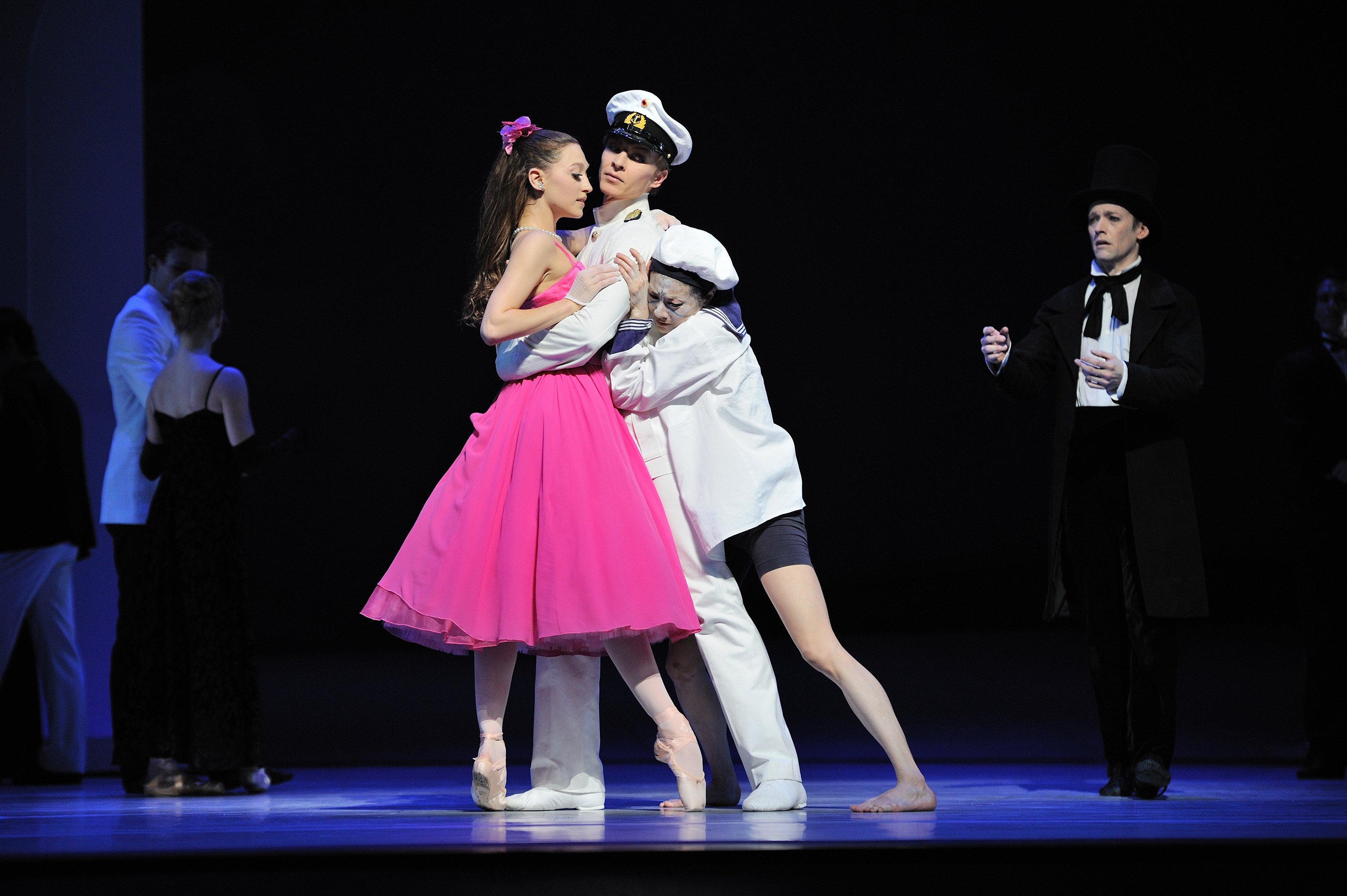 Sarah Van Patten and Tiit Helimets in Neumeier's The Little Mermaid Erik Tomasson