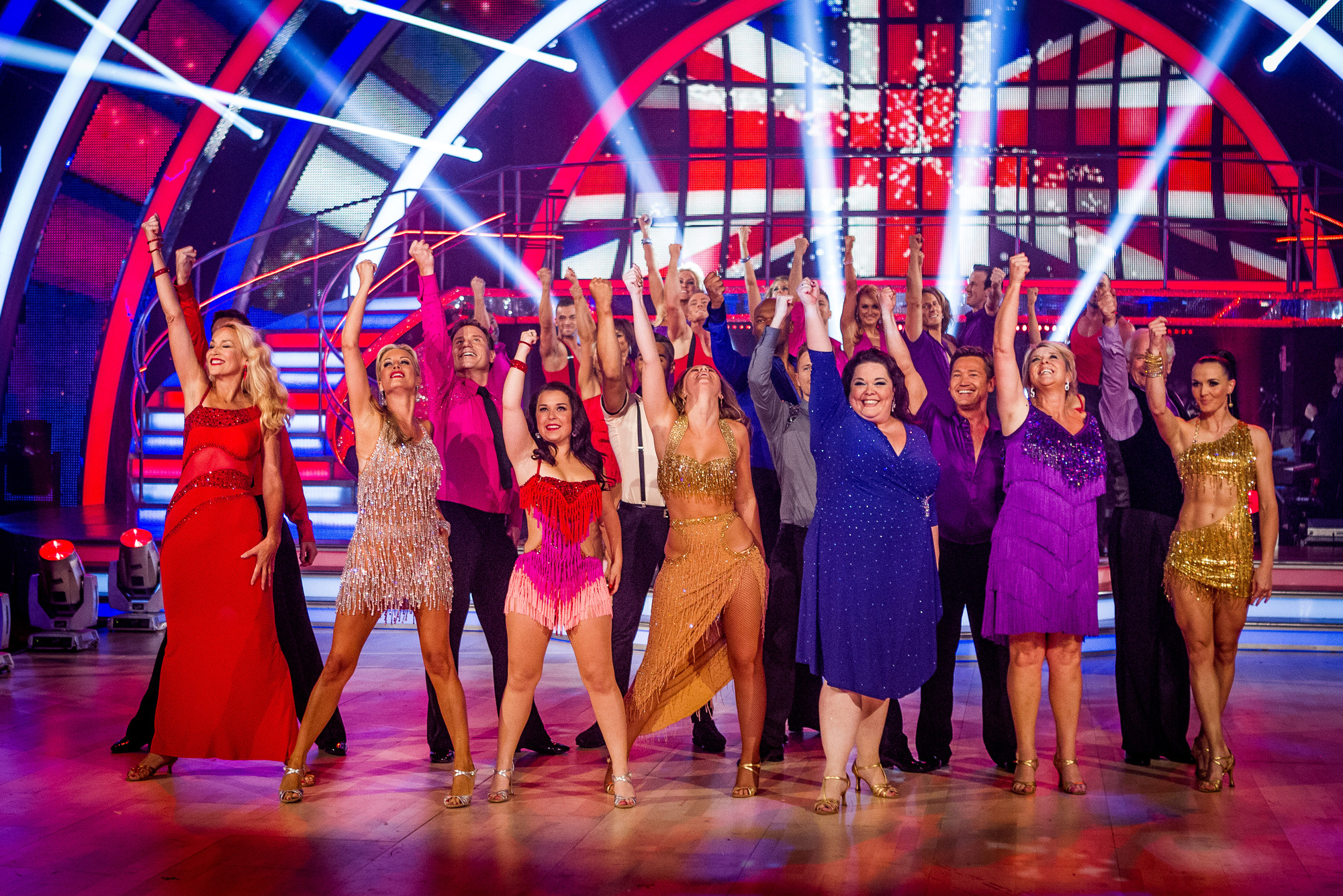 Strictly Come Dancing Launch Show - (C) BBC - Photographer: Guy Levy