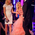 The couple leaving Strictly Come Dancing - Colin Salmon & Kristina Rihanoff Tess Daly, Kristina Rihanoff, Colin Salmon - (C) BBC - Photographer: Guy Levy