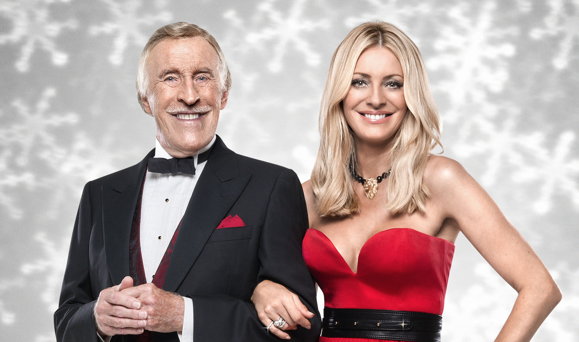 Bruce Forsyth, Tess Daly - (C) BBC - Photographer: Ray Burmiston