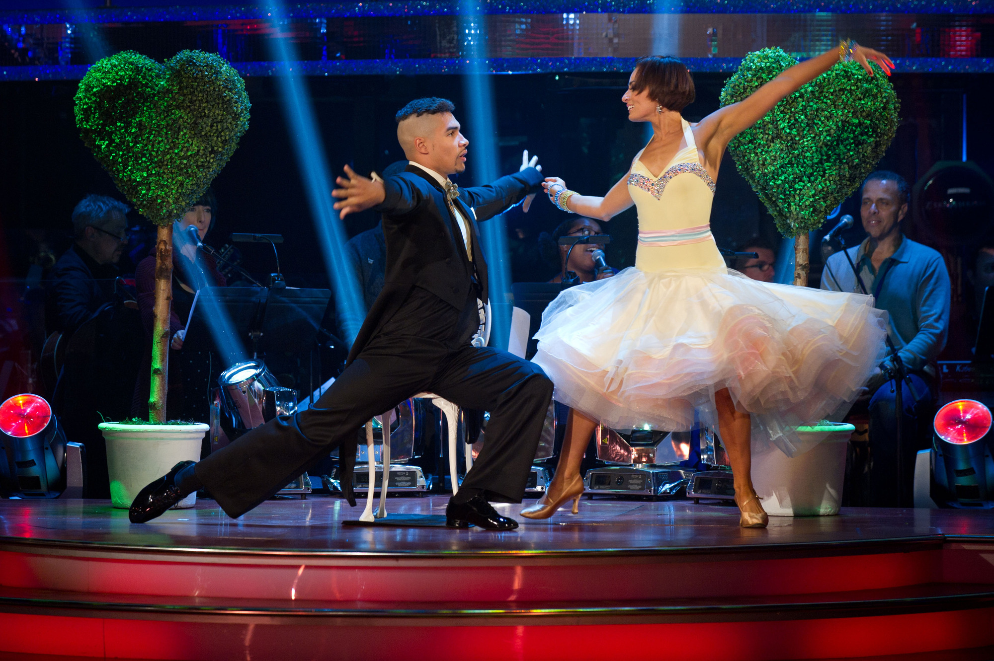 Louis Smith, Flavia Cacace - (C) BBC - Photographer: Des Willie