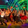 The cast of Strictly Come Dancing perform Thriller - (C) BBC - Photographer: Guy Levy