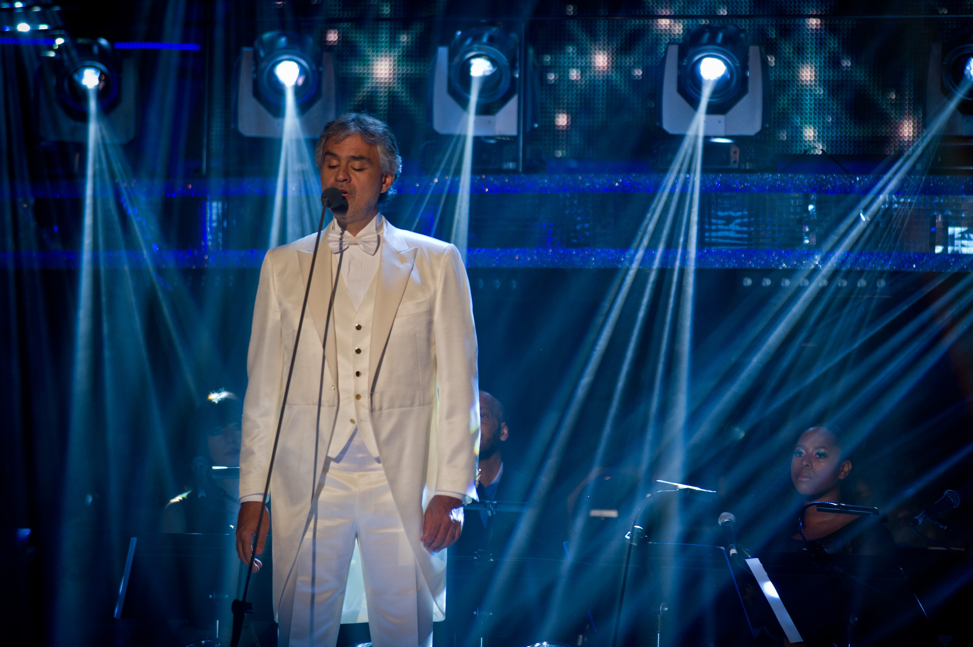 Andrea Bocelli - (C) BBC - Photographer: Des Willie