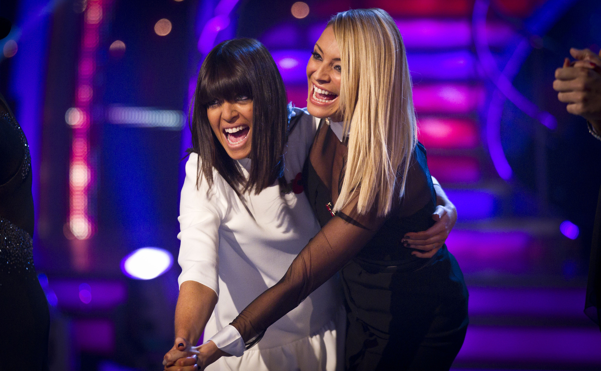 **Live Show** Claudia Winkleman, Tess Daly - (C) BBC - Photographer: Guy Levy
