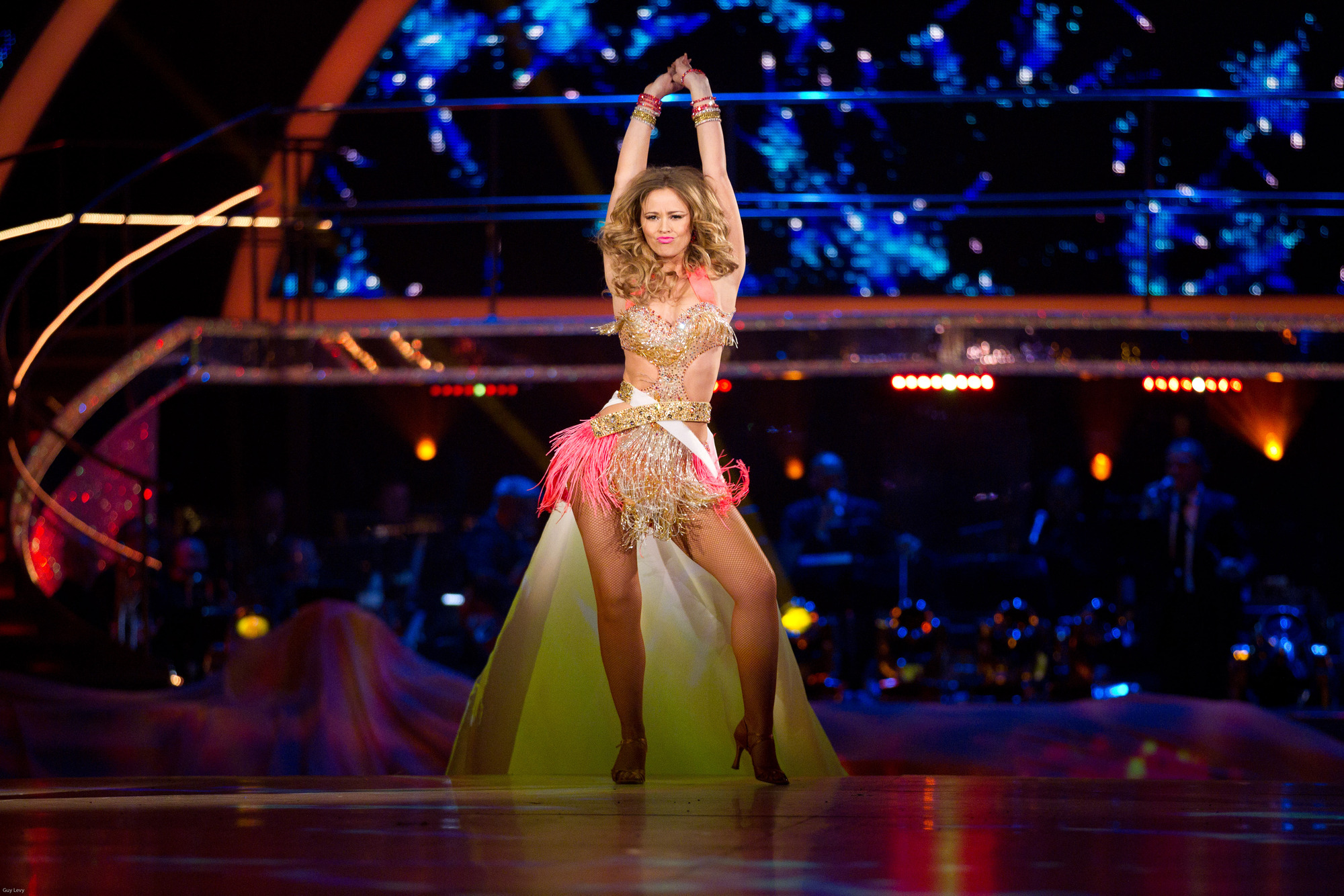 ** LIVE SHOW ** Kimberley Walsh - (C) BBC - Photographer: Guy Levy