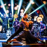 Pasha Kovalev, Karen Hauer, The Script - (C) BBC - Photographer: Guy Levy