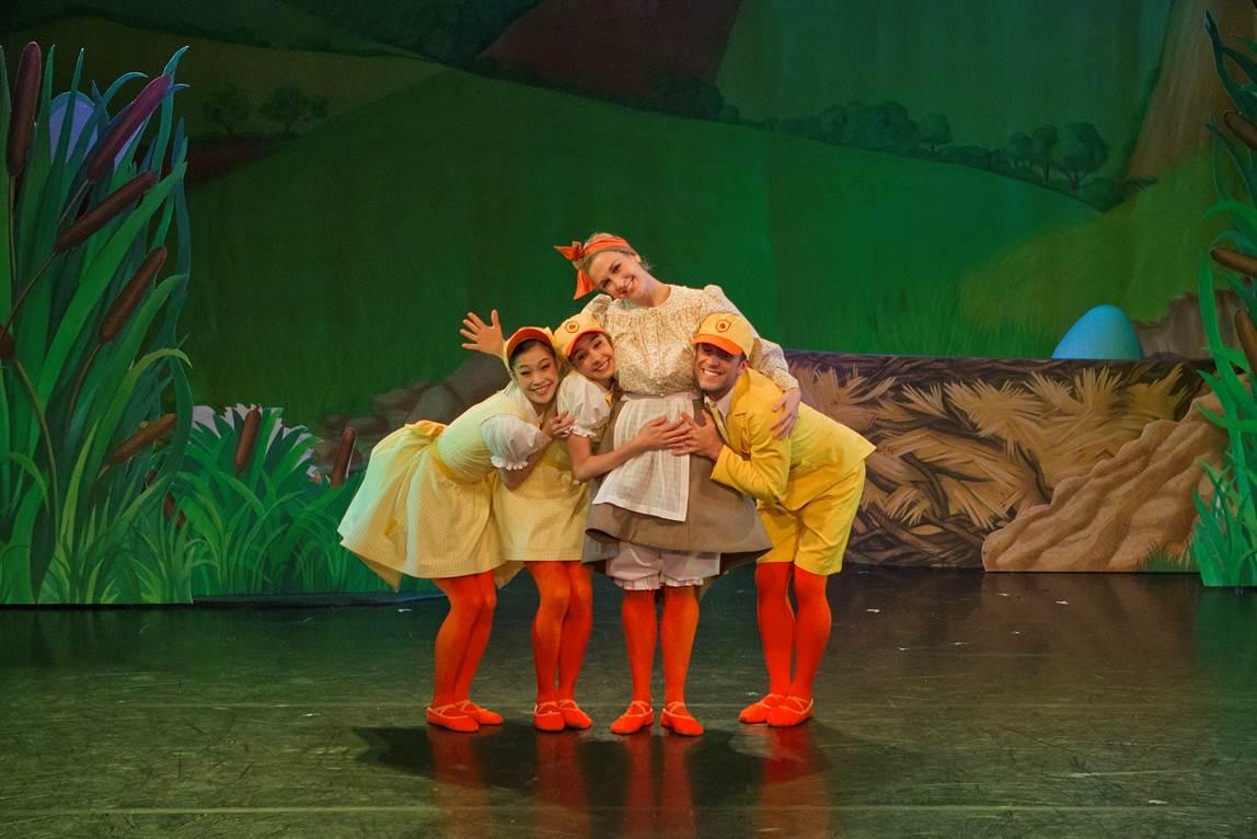 ducks in ballet