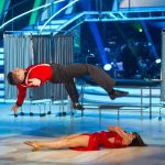 **LIVE SHOW** Flavia Cacace, Louis Smith - (C) BBC - Photographer: Guy Levy