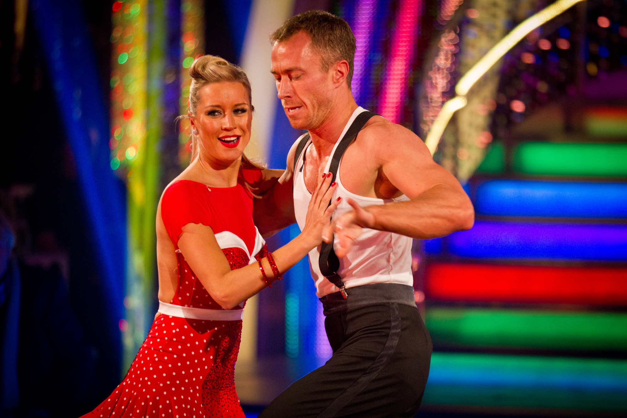 Denise Van Outen, James Jordan - (C) BBC - Photographer: Guy Levy