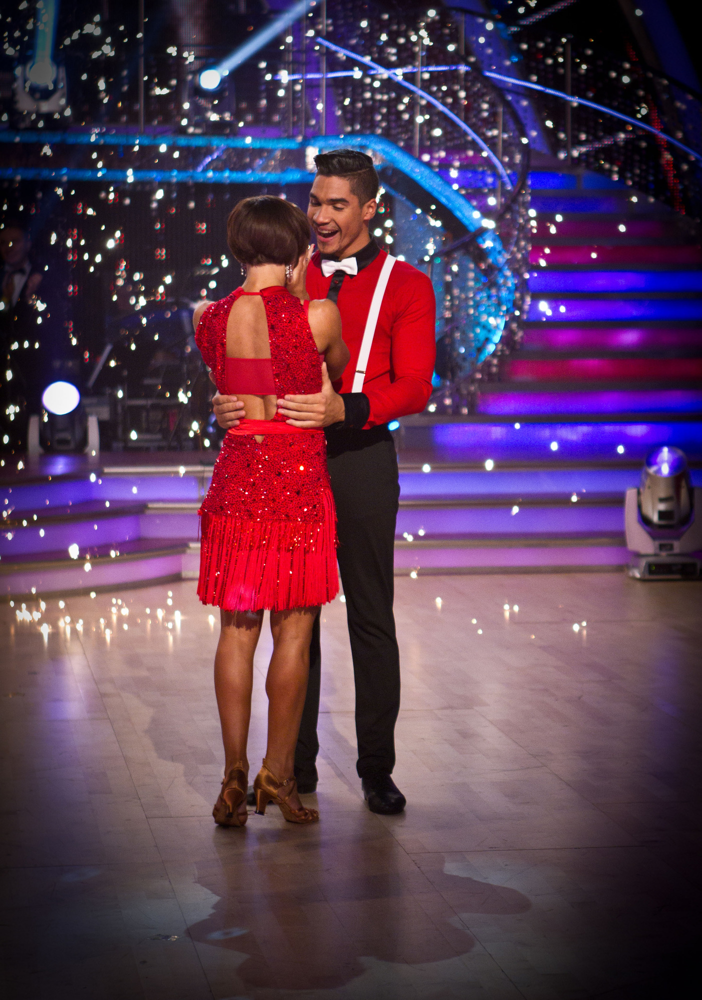 Flavia Cacace, Louis Smith - (C) BBC - Photographer: Guy Levy