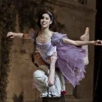 ballet dancer on royal ballet stage