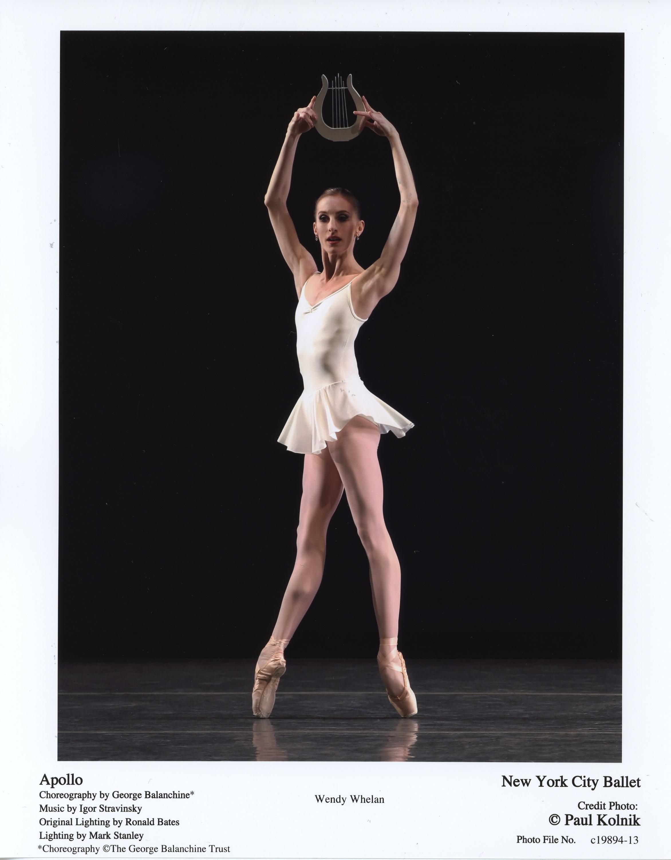 ballet dancer in apollo