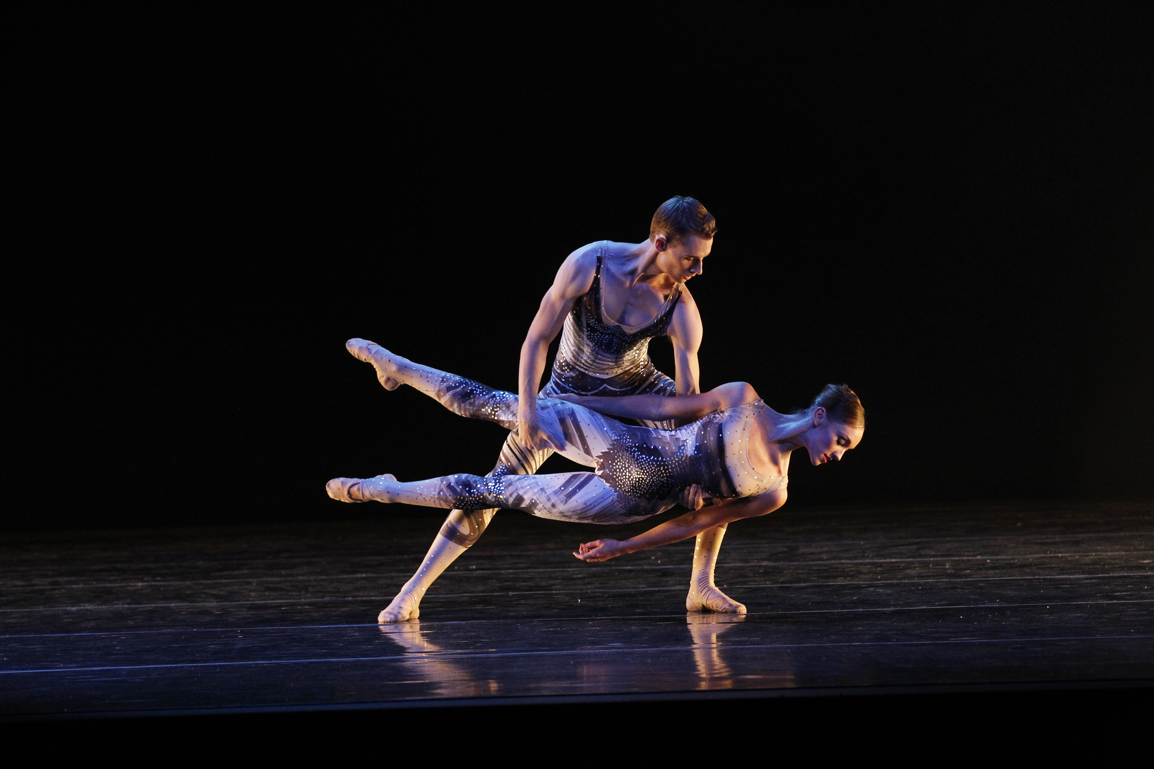 The Narrative of Nothing (Infinity triple bill): photographer Jeff Busby, dancers Charles Thompson and Brooke Lockett