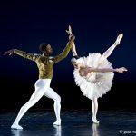 ballet dancer in white