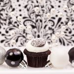 christmas ballet cupcake
