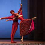 ballet dancer on stage